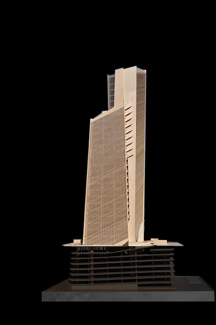 Architectural Model - Torre de Oficinas Cube 2  / Estudio Carme Pinós