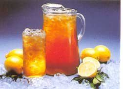 SWEET TEA    ■Boil a pot of water and remove from heat.   ■Place 6 regular teabags in the water   ■Steep for about half an hour.   ■Pour warm tea into a gallon sized pitcher.   ■Add 1.5-2 cups sugar to the warm tea. Stir well.   ■Add room temperature water to the top of the pitcher.   ■Serve on ice when cold. The ice is also important. You've got to use a lot of it. And if you have the electronic equipment to crush it-then crush away, my friend.