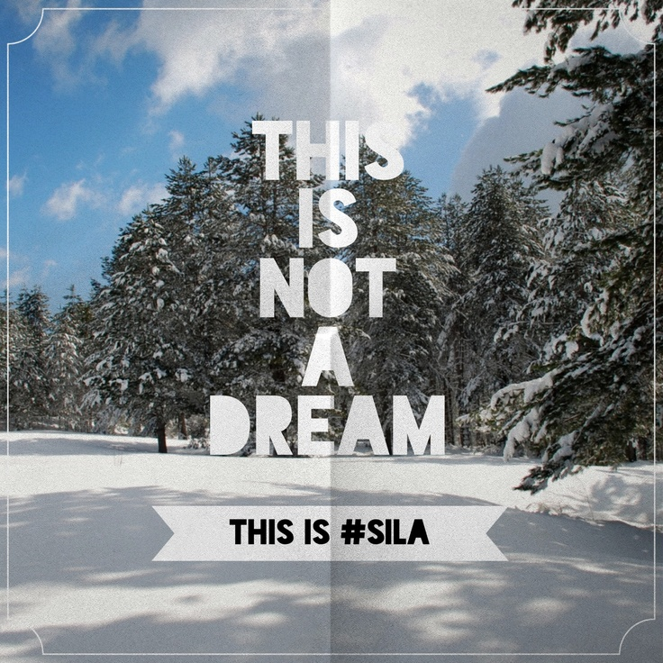 This in not a dream...this si #sila #calabria