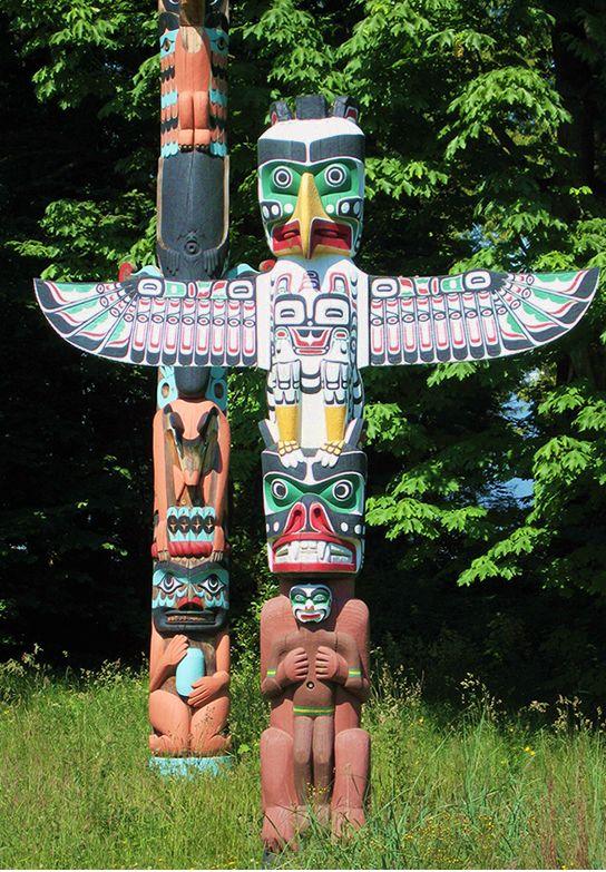 【H.I.S.】【Totem pole】トーテムポール、カナダ。 #travel #canada