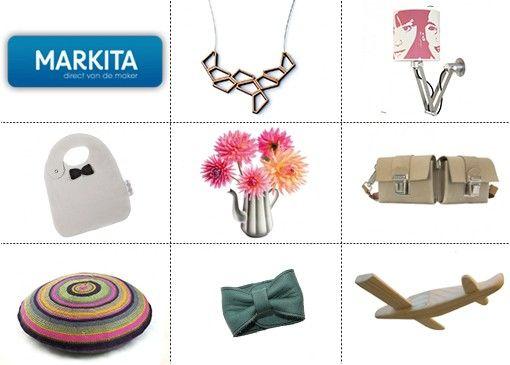 Unieke ontwerpen en bijzondere producten; wij zijn er dol op! Markita is dan ook echt een aanrader.