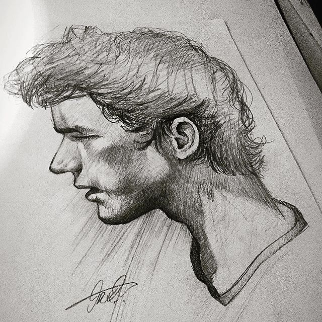 New The 10 Best Art Ideas Today With Pictures اددررري سحبببهه ادررييي رايكم رسم ابداع رسوم Male Sketch Art Male