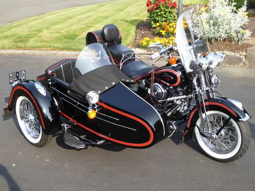 1998 harley davidson heritage springer softail flsts w liberty sidecar hd softails. Black Bedroom Furniture Sets. Home Design Ideas
