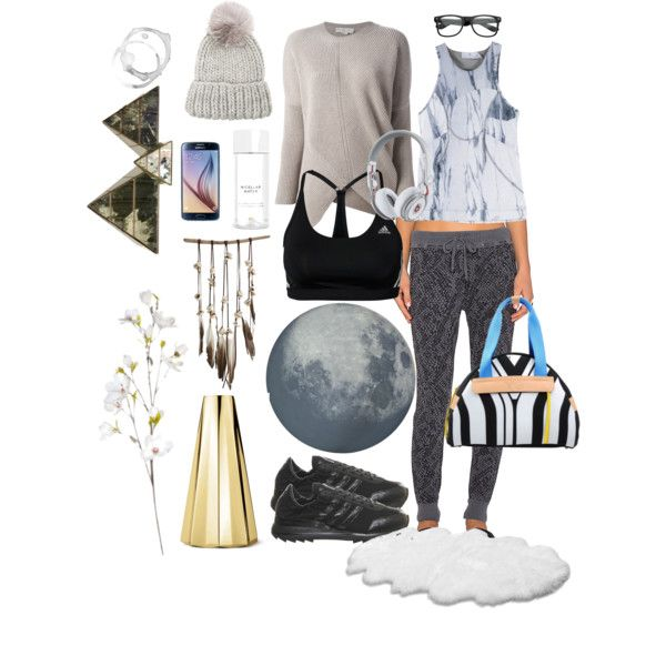 A fashion look from October 2015 featuring STELLA McCARTNEY sweaters, Splendid activewear pants and adidas. Browse and shop related looks.