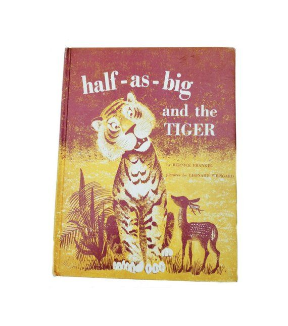 Half As Big And The Tiger Child Book Hardback Vintage Books Books Book Worth Reading