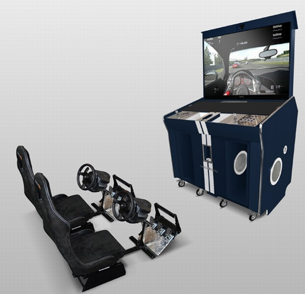 Arcade Trunk XXL simulator by Pinel & Pinel is luxurious way to enjoy video games