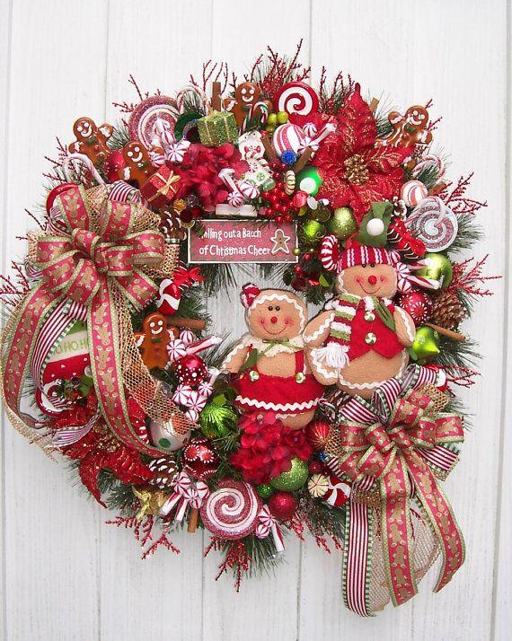 The Bakers OF GINGERBREAD Christmas Holiday por UpTownOriginals
