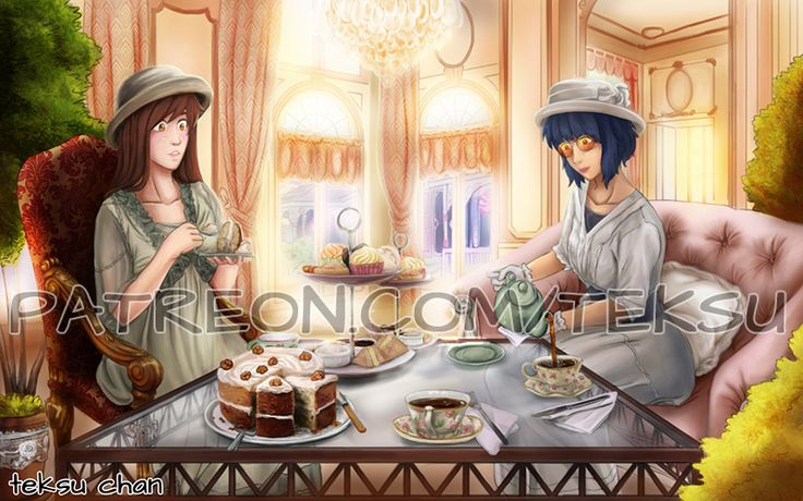 Victorian Tea by Teksu on DeviantArt