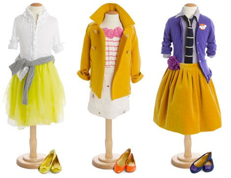 Why can little girls rock these outfits so much better than their moms?! not fair ;-)