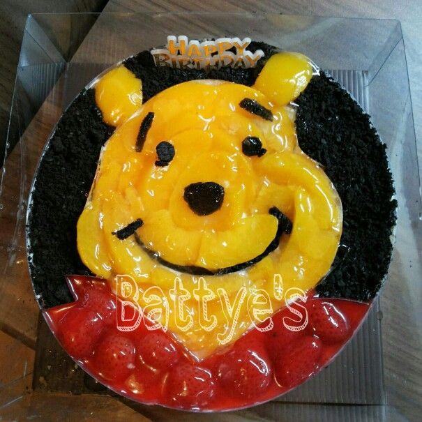 Winnie the Pooh Cheesecake