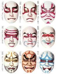 Image Result For Kabuki Makeup Pinterest Japanese Art - Kabuki-makeup