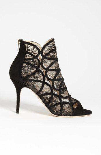 JIMMY CHOO Pumps Gr. D 395 Beige Schwarz Damen Schuhe High Heels Shoes Neu