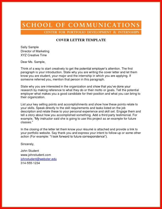 25+ Great Cover Letter Examples Cover Letter Examples For Job