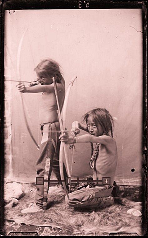 ARAPAHO BOYS , 1890