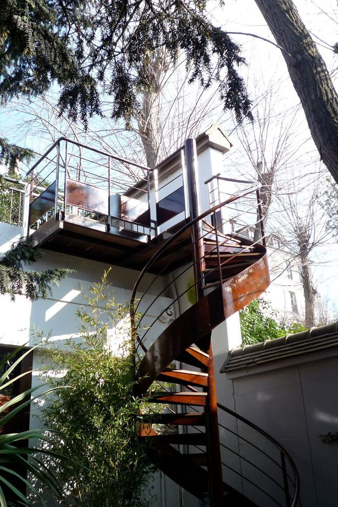 6939 melhores imagens de escalier ext rieur d coration. Black Bedroom Furniture Sets. Home Design Ideas