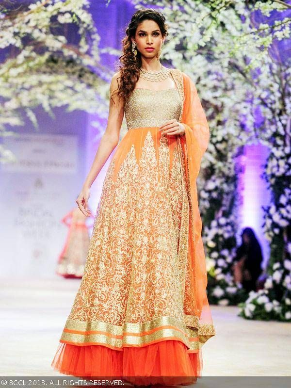 Anarkali by Jyotsna Tiwari at India Bridal Fashion Week '13
