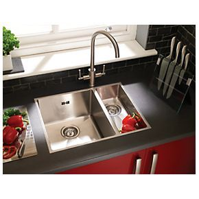 Kitchen sinks, Stainless steel and Sinks on Pinterest