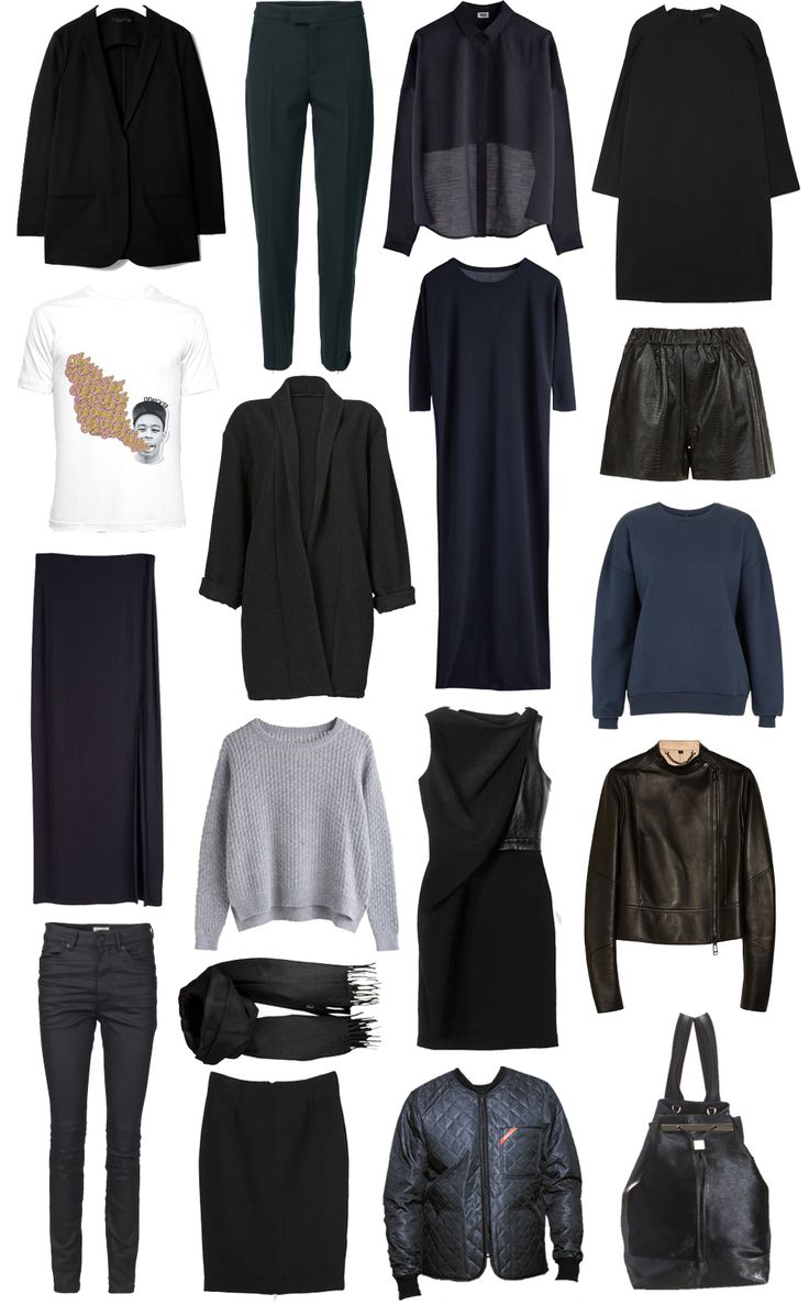 82 best images about Capsule wardrobes on Pinterest