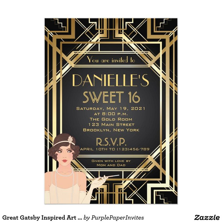 344 best Sweet 16 Invitations images on Pinterest | Rose gold ...