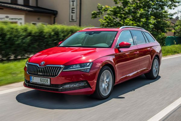 2019 Skoda Superb Estate City Car Car Pictures Car