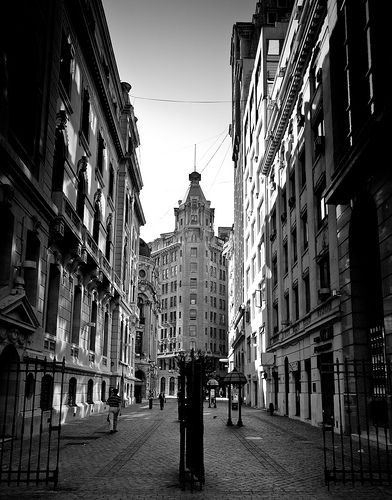 New York Street ~ Location: Santiago de Chile.