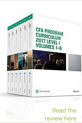 CFA Curriculum books are the Bible of CFA candidates, to be referred to whenever in doubt. They present the most lucid and simple explanation of concepts in the CFA syllabus. Read the review here.