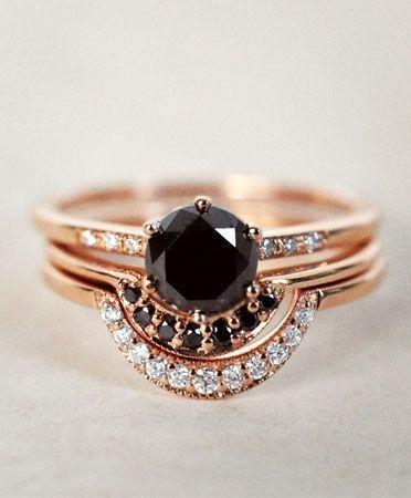 Bohemian Jewellery / Black Diamonds http://thelane.com