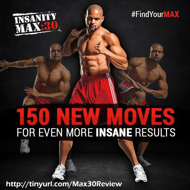 Ready for a challenging cardio workout? Then look no further... Insanity MAX 30 promises to be harder than Insanity and much harder than Focus T25! Get FREE bonuses here: http://www.onesteptoweightloss.com/insanity-max-30-review #Insanity2Max30