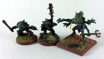 Must Contain Minis: Reaper Bones Spikeshell Warriors and Tiik Baron - ...