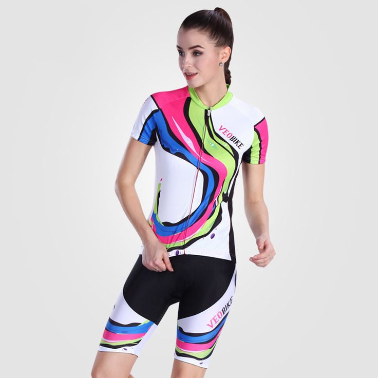 ==> [Free Shipping] Buy Best Cycling Clothing Women Cycling Jersey Bib Short Bike Equipacion Ciclismo 2016 Mujer Cycling Bib Sets W05 Online with LOWEST Price | 32688727419