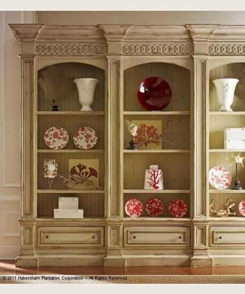 habersham american treasures hathaway triple bookcase for sale at carolina rustica - Habersham Furniture