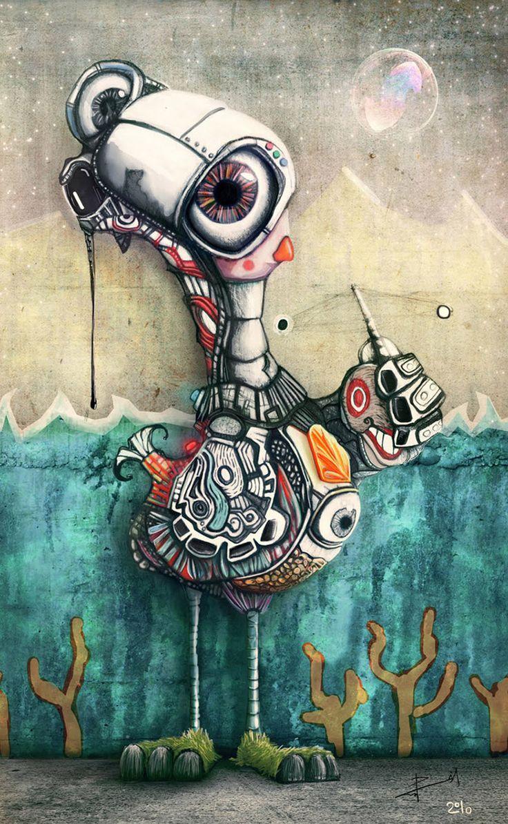 Art color rijeka - Street Art Juan Pablo Castro Mora