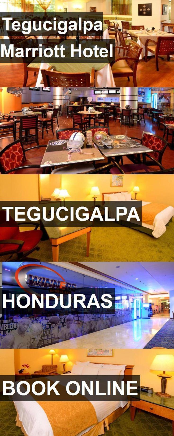 Tegucigalpa Marriott Hotel in Tegucigalpa, Honduras. For more information, photos, reviews and best prices please follow the link. #Honduras #Tegucigalpa #travel #vacation #hotel