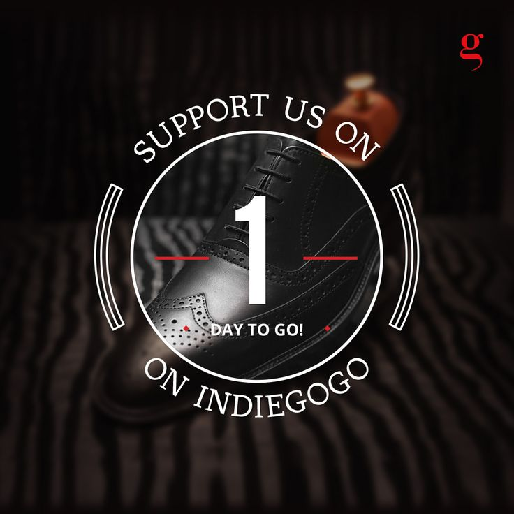 Promotional Kickstarter & Indiegogo Ad/Post/Content for Facebook & Instagram for www.gracill.com (Premium Handcrafted Men Shoes) __ Designed by: www.skin3design.com