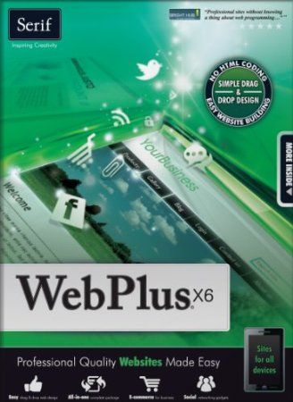 Easily create professional-quality websites for your business, club, hobby – anything. WebPlus X6 is the all-in-one website designer that combines drag-and-drop simplicity with flexible tools so you can quickly customise stylish templates or create completely unique sites – no technical expertise required. Add your own content, integrate social networks, use interactive gadgets and make money with e-commerce.   Price: $99.99