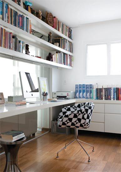 17 melhores ideias sobre escrit rio em casa no pinterest - Escritorios modernos para casa ...