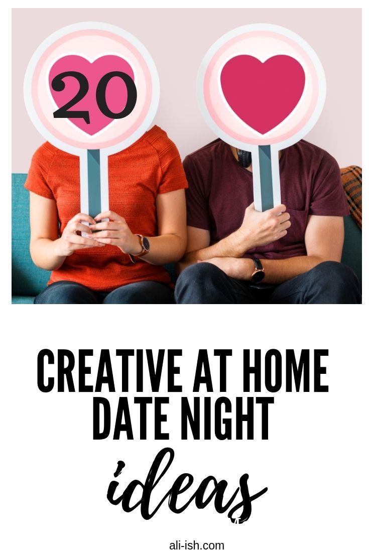 20 Fun At Home Date Ideas | Valentines Day | At home dates, Date
