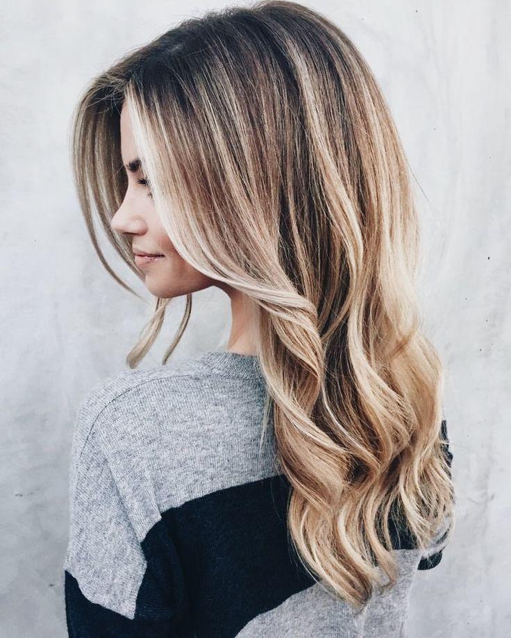 die besten 25 warme haarfarben ideen auf pinterest warme blonde highlights warme highlights. Black Bedroom Furniture Sets. Home Design Ideas