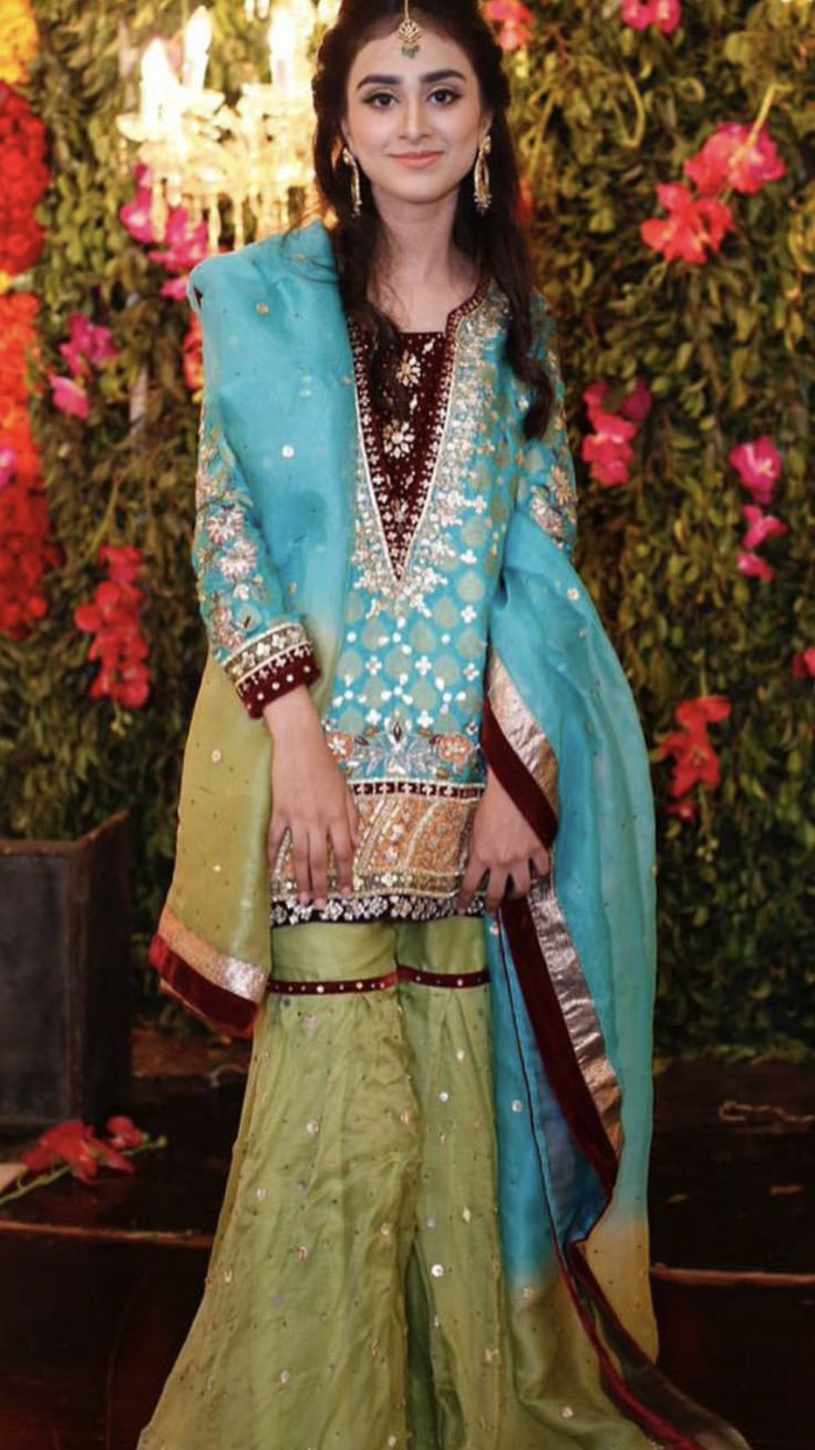 329 best Desi Outfits-Party Wear images on Pinterest | Indian ...