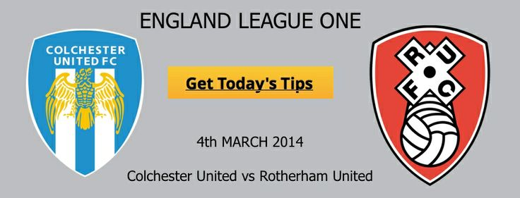 #Colchester_United vs #Rotherham_United - #Colchester_United have lost their last 3 #matches in #League_One and failed to win a single #match in February. Submit your email address here to get access to our #football_betting #tips