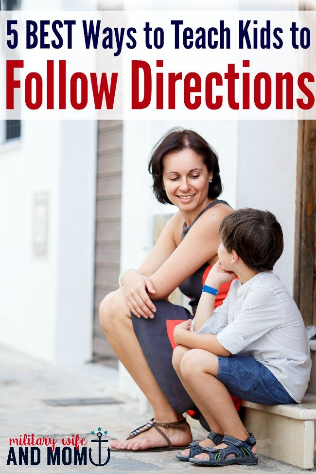 5 Genius Tricks to Try When Your Kids Won't Follow Directions