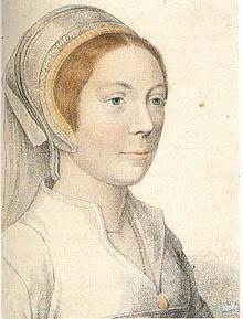 Kathryn Howard - sketch by Holbein