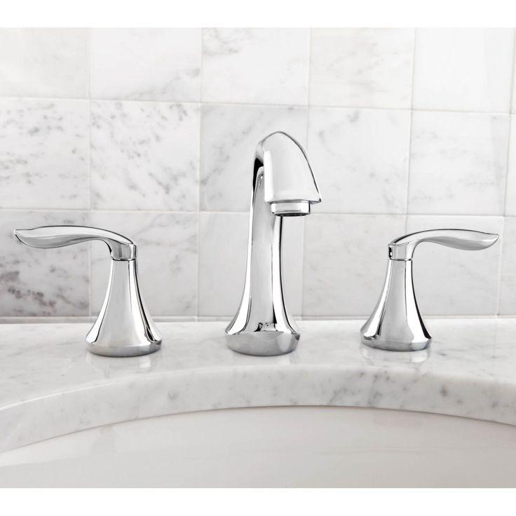 Moen T6420 Eva Polished Chrome Two Handle Widespread Bathroom Faucets Efaucets Com