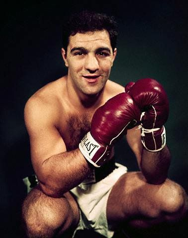Rocky Marciano  The only world heavyweight boxing champion to retire undefeated, his 49 victories featured 43 knockouts and on the way he beat such great fighters as Joe Louis, Jersey Joe Walcott, Roland La Starza, and Ezzard Charles.