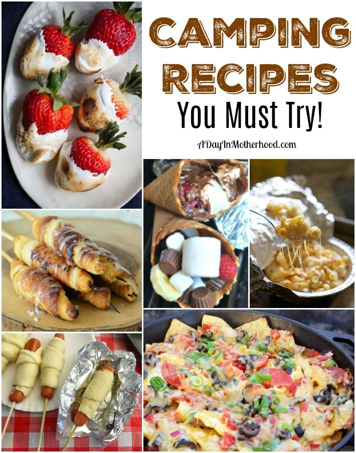 Top 25 Best Camping Recipes Lunch Ideas On Pinterest