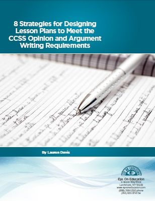 Lesson plan for teaching argumentative essay