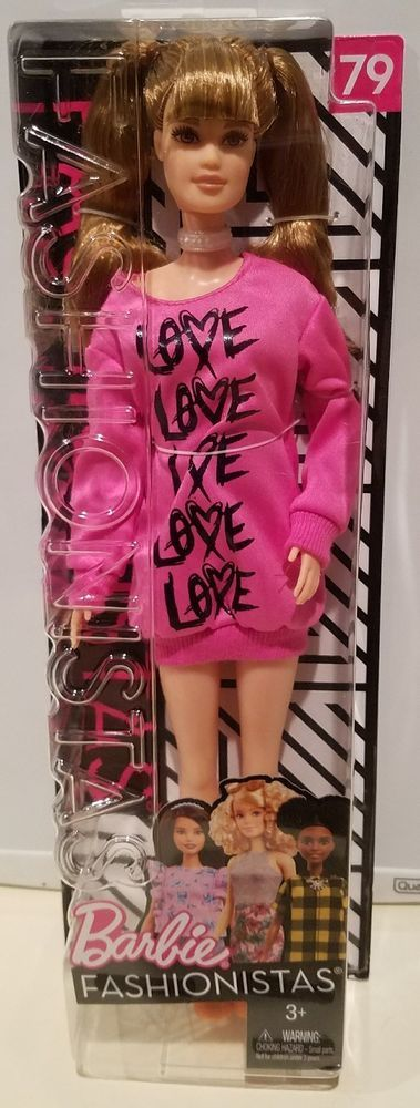 Image result for barbie fashionistas doll 79