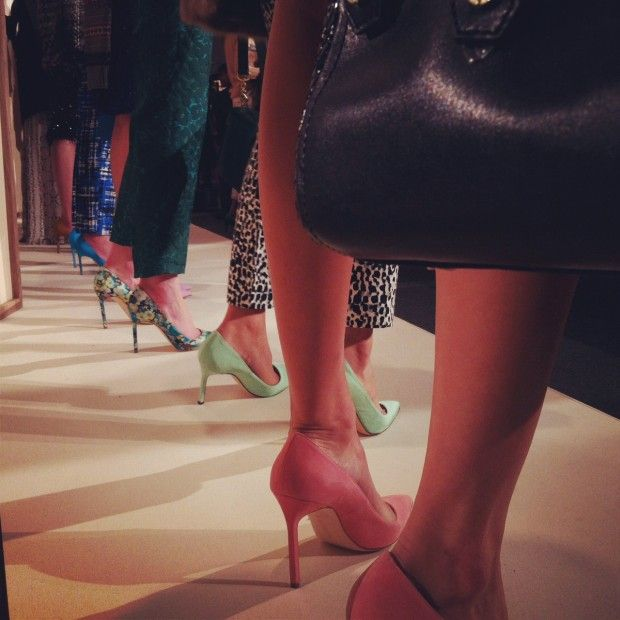 so excited for this: Manolo Blahnik has collaborated with J. Crew on a line of their classic BB style heels, in prints and colorways exclusive to J.Crew.