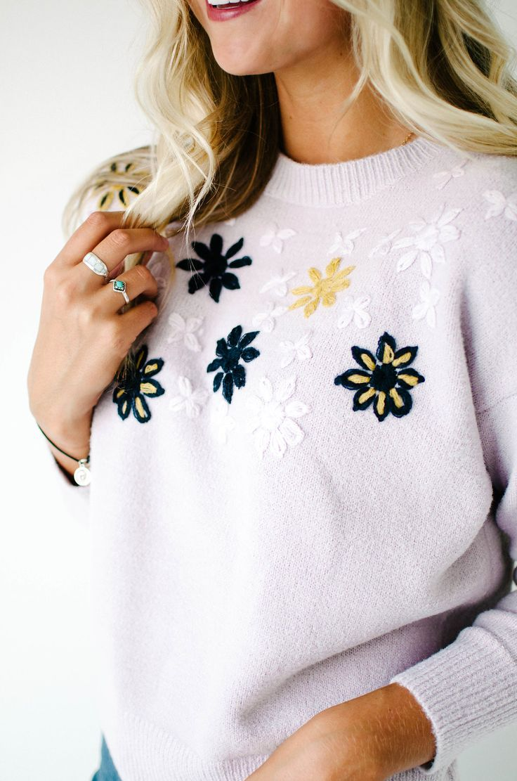 Embroidered Sweaters | ROOLEE