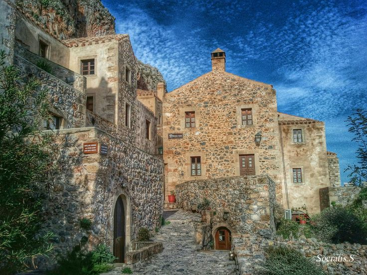GREECE CHANNEL | The castle of #Monemvasia by Socratis  on 500px http://www.greece-channel.com/
